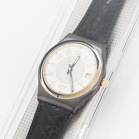 Swatch, george, wristwatch, 34 mm.