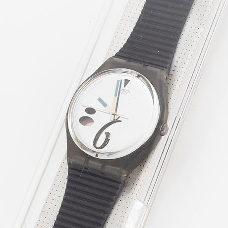 Swatch, high bean, wristwatch, 34 mm.