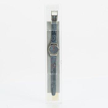 Swatch, Lutece, wristwatch, 25 mm.