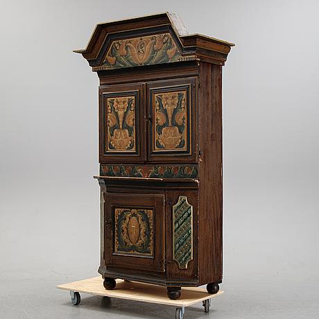 A swedish cabinet from dalarna 1783.