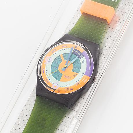 Swatch, skychart, wristwatch, 34 mm.