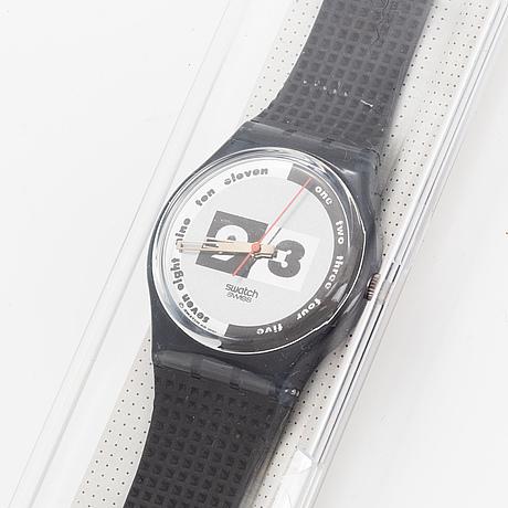 Swatch, nüni, wristwatch, 34 mm.