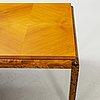 A 1940's art deco coffee table.