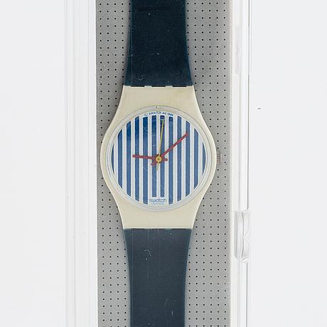 Swatch, newport two, wristwatch, 25 mm.