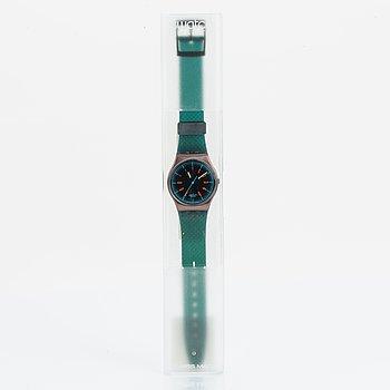 Swatch, Icebreaker, wristwatch 34 mm.