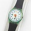 Swatch, hopschotch, wristwatch,  34 mm.