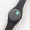 Swatch, color window, wristwatch, 34 mm.