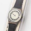 Swatch, mba, wristwatch, 34 mm.