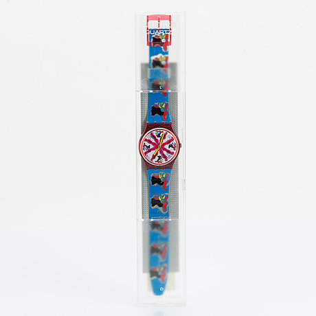 Swatch, chiccirichi, armbandsur, 34 mm.