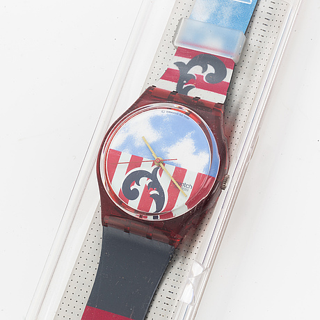 Swatch, the boss, armbandsur, 34 mm.