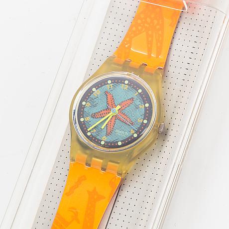 Swatch, rising star, wristwatch, 25 mm.