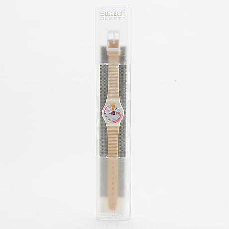 Swatch, port-o-call, wristwatch, 25 mm.