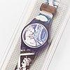 Swatch, sappho, wristwatch, 25 mm.