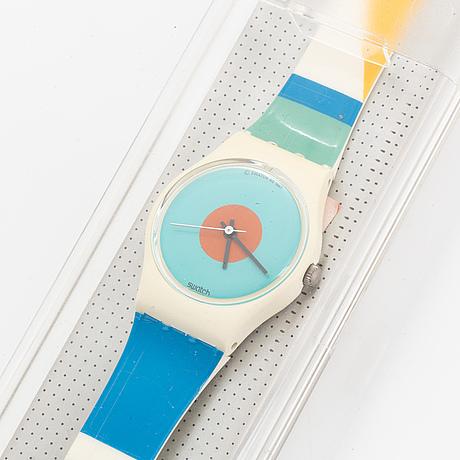 Swatch, nab light, wristwatch, 25 mm.
