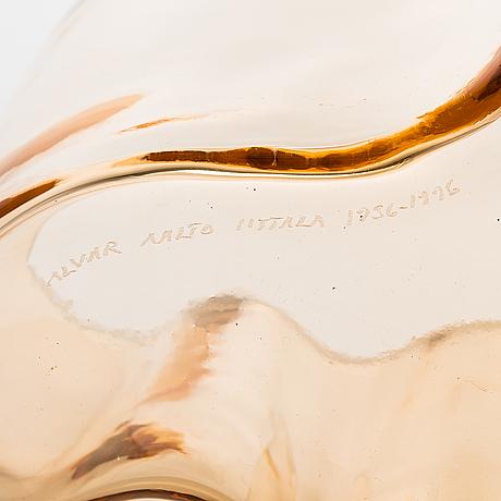 "Alvar aalto, vas, ""3030"", signerad alvar aalto iittala 1936-1996."