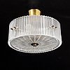 Carl fagerlund, a glass ceiling lights, orrefors, second half of the 20th century.
