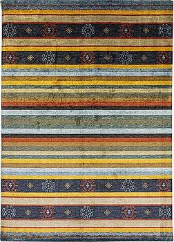 Matta, sk Bambu silke, ca 289 x 200 cm.