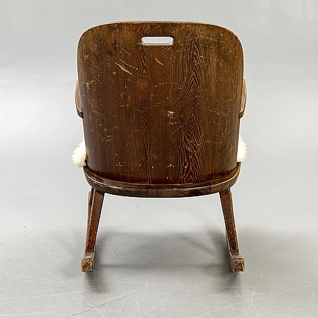 An ab åby möbelfabrik, rocking chair, 1930-40's.