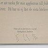 Joseph kosuth, silkscreenm 1998, signed 7/50.