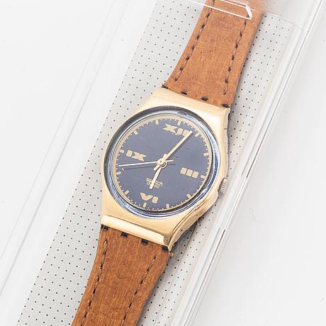 Swatch, tough turf, wristwatch, 25 mm.