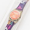 Swatch, coupon, wristwatch, 25 mm.