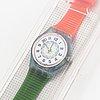 Swatch, high neel, wristwatch, 25 mm.