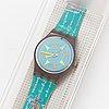 Swatch, compass, wristwatch, 25 mm.