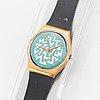 Swatch, sign of samas, wristwatch, 34 mm.