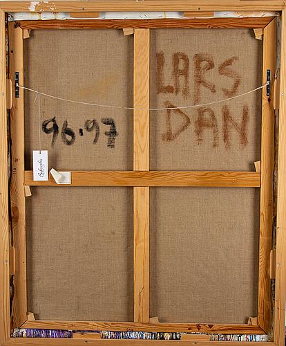 Lars dan, olja på duk, signerad och daterad 96-97 a tergo.