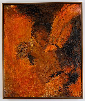 Lars Dan, oil on canvas, signed and dated 97-97 verso.
