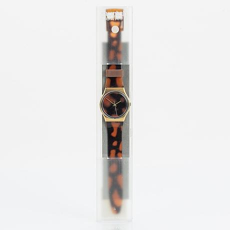 Swatch, sloan racer, wristwatch, 34 mm.