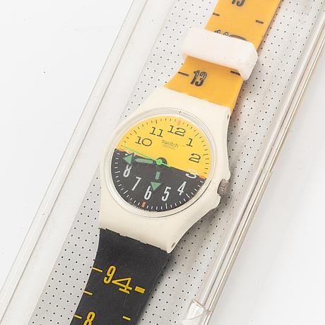 Swatch, seventeen seven, armbandsur, 25 mm.