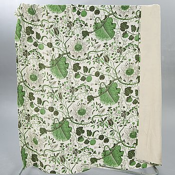 "Josef Frank, textile / bedspread, Swedish tin, ""Vegetable tree""."
