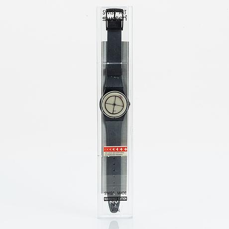 Swatch, wheel animal, wristwatch, 34 mm.