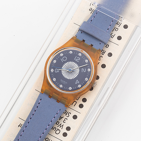 Swatch, polka, armbandsur, 25 mm.