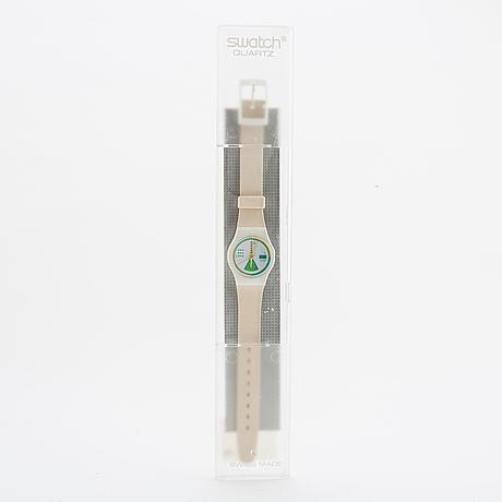 Swatch, greengo, armbandsur, 25 mm.