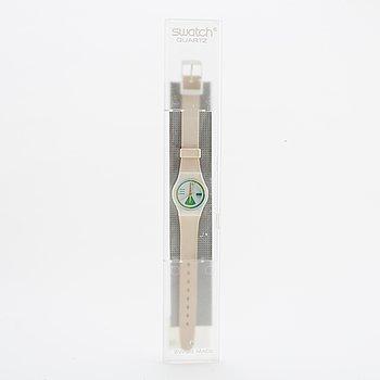 Swatch, Greengo, wristwatch, 25 mm.