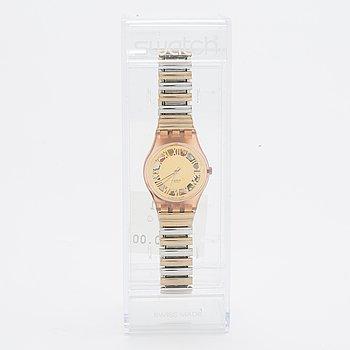 Swatch, Pink Nugget, wristwatch, 25 mm.
