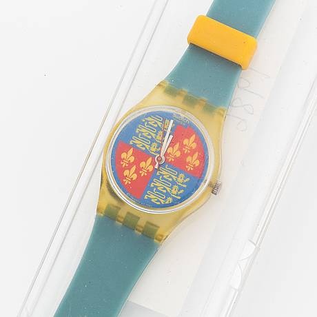 Swatch, lion heart, armbandsur, 25 mm.
