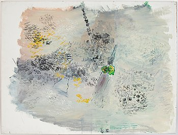 Ingegerd Möller, oil on canvas. Not signed.