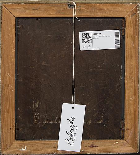 Okänd konstnär 1800-tal , oil on panel,