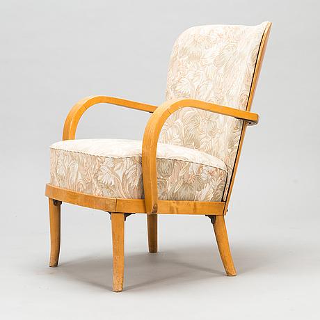 Werner west, a 1930s armchair for wilh. schaumannin vaneritehdas oy, jyväskylä.