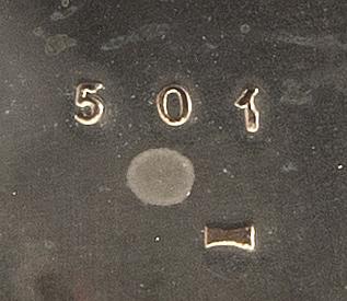 Teservis 3 dlr silver, england birmingham 1908/09.
