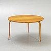 "Bruno mathsson, an oak and beech table, ""annika"", signed, dated 1938."