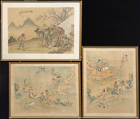 Okänd konstnär 1800/1900-tal ,
