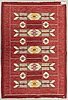 Ingegerd silow, carpet, carpet, approx. 200 x 144 cm, signed is.