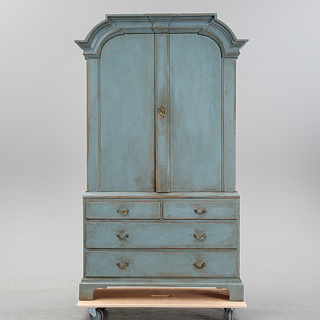 A late baroque style cabinet, 19th century.