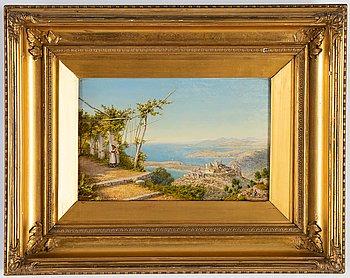 John Mulcaster Carrick, oil on canvas, signed.