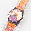 Swatch, rara avis, matteo thun, wristwatch, 34 mm.