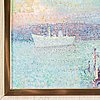 Lauri nila, oil on canvas/panel, signed.